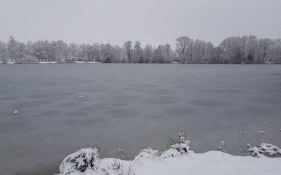 Endlich gibt es eine Winterlandschaft bei uns am …