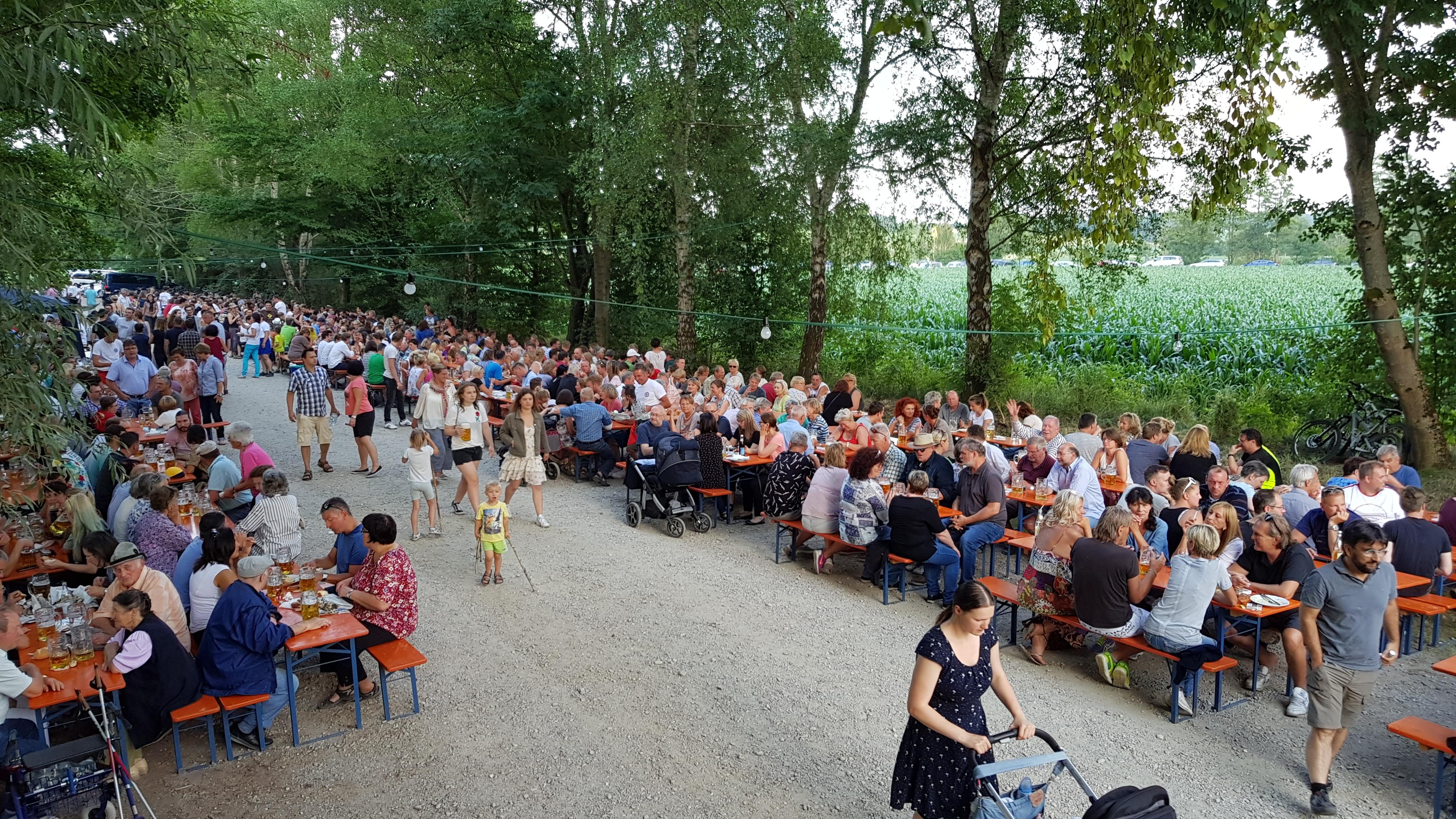 Unser Sommerfest...