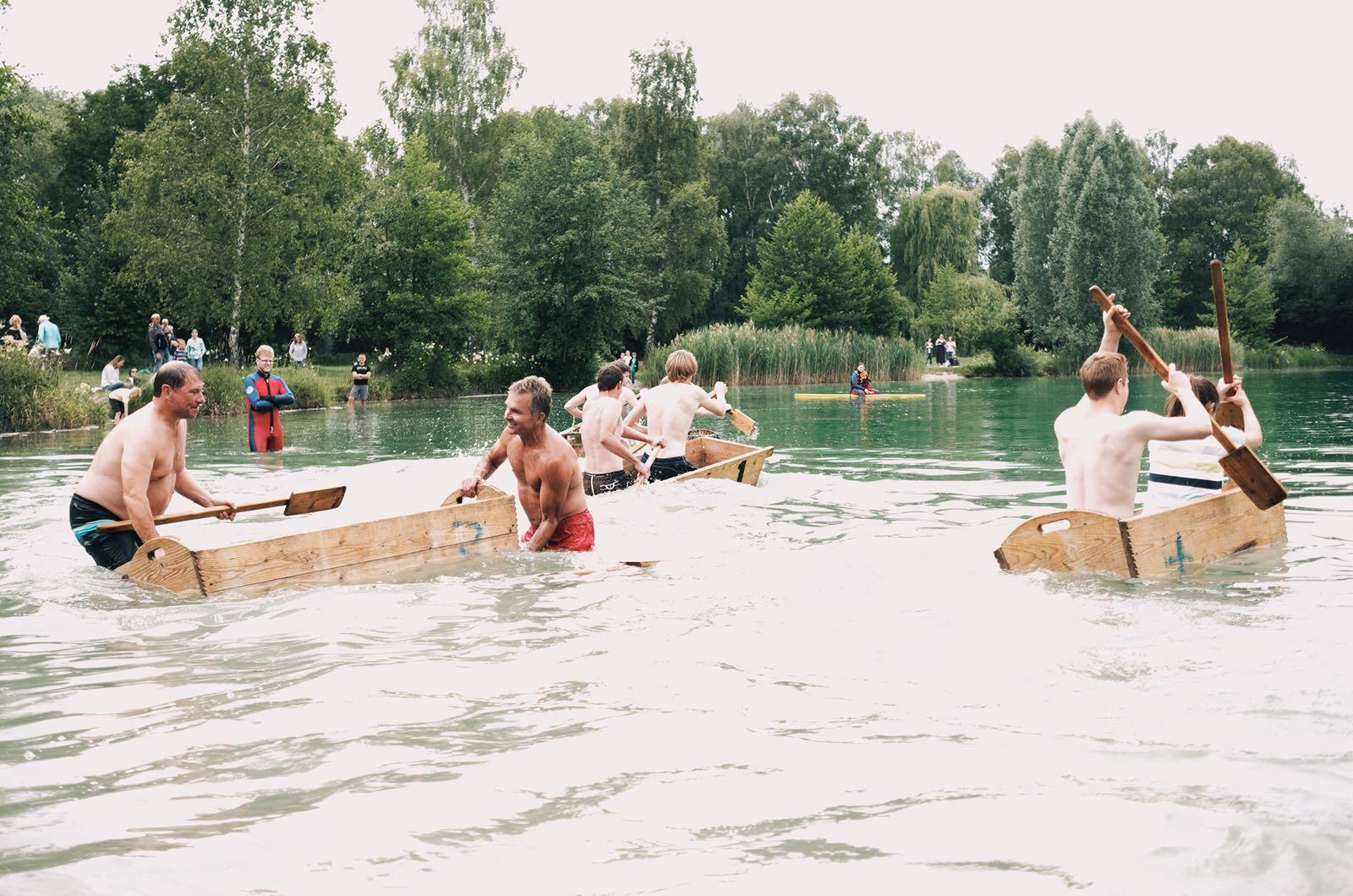 Sautrogrennen 50 Jahre Wasserwacht OG Wörth